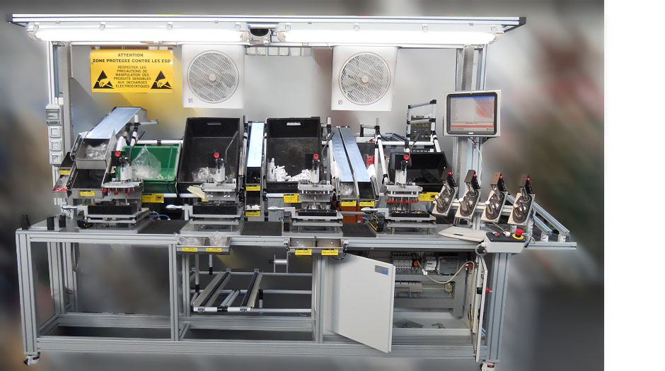 Electromechanical test benches